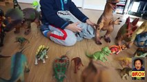 Jurassic World Indominus Rex ZOOMER DINO vs Oynx, MiPosaur Robotic Dinosaurs Comparison +