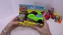 Activités et feu amusement amusement enfants jouer plates-formes jouets un camion Doh boomer diggin playset plastilina
