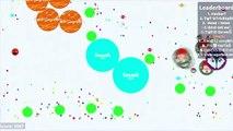 Falso jugabilidad móvil Agario | 1 solo contra kn noob | destruyendo kn solo |