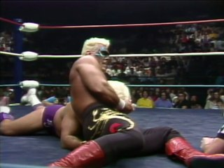 Ric Flair vs Sting for NWA World Heavyweight Championship @ NWA Clash of Champions I  1988