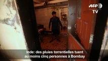 La mousson tue cinq personnes à Bombay