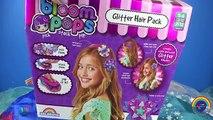 Fleurir arc agrafe poupées fleurs gelé briller cheveux Bandeau vie taille Elsa anna pops exten