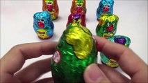 Pâques Oeuf des œufs caché chasse dans mon poche chiot jouets Surprise shopkins yowie surprise