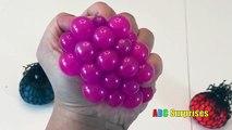 Et des balles en changeant couleur Coupe Coupe amusement amusement drôle engrener ouvrir vase spongieux bizarre Balles de stress!