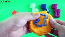 Et les couleurs Créatif léléphant pour amusement amusement enfants Apprendre moules jouer avec Doh animal lion rainbowlearn