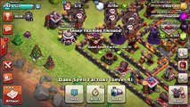 ALL LEVEL 3 WITCH and SKELETON SPELL Attack!! MASS Larry