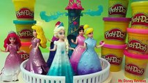 Cendrillon jasmin jouer Princesse éclat Doh magiclip disney sofia ariel elsa anna magiccl
