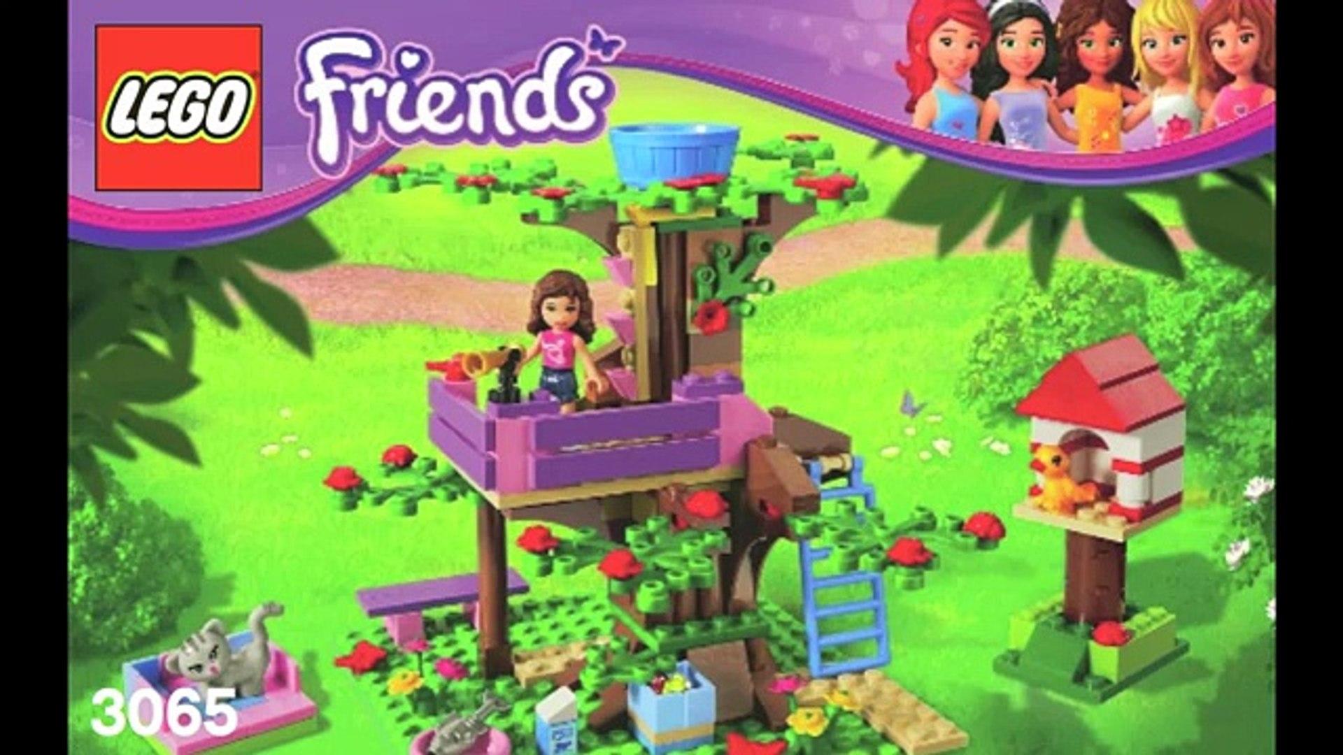 Edificio Amigos Casa Instrucciones árbol Lego 3065 Olivia Dailymotion Video