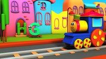 bob 运输火车 | 运输视频 | 学习车辆 | Learn Transport with Bob | Bob The Train | 3D Train | Bob Transpo