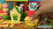 Les trois petits cochons et le loup Marionnettes 3 Little Pigs Puppet Theater