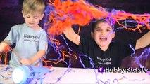 Mega GIANT ELSA Anna Frozen Surprise Eggs! Olaf Toys Play-Doh Egg, Chocolate Eggs HobbyKid