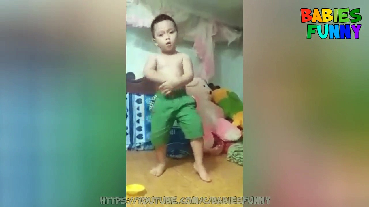 Funny Babies Dancing – A Cute Baby Dancing Videos Compilation 2017