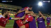 اهداف مباراة سوريا وقطر 3-1 {هدفين عمر خريبين} تصفيات كاس العالم 2018 اسيا {HD} - YouTube