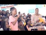 Pod et Marichou - Les acteurs répondent aux questions des élèves du Cours Sainte Marie de Hann