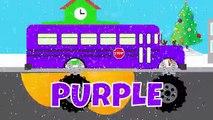 Et bébé les autobus les couleurs couleurs pour enfants Apprendre monstre nombres école enseigner un camion collection