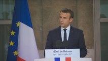 Terrorisme, loi Travail, François Hollande : les annonces d'Emmanuel Macron - 31/08/2017