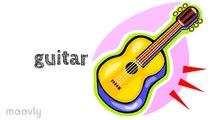 Éducatif Anglais enfants orchestre vidéo vocabulaire Instrument de musique instrument f