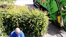 Des déchets poussoir un camion VDK 2000