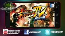 Street Fighter IV Para Android // El mejor juego de Peleas