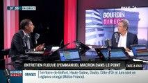 Brunet & Neumann : Entretien fleuve d'Emmanuel Macron dans Le Point - 31/08
