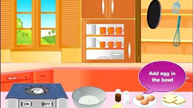Baby Barbie My Perfect Breakfast - Cooking Games - Baby Barbie Games