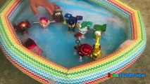 Paw Patrol Toys Bath in Bubbles Pool Disney Cars Toys Spiderman Bubbles Makers Ryan ToysRe