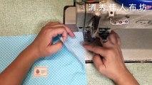 清秀佳人布坊 - 手作教學 - 有弧度的包邊縫作法