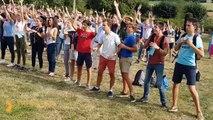 """Flashmob Retraite Lycéens 2017 """"MyLightHouse"""" TRESSAINT"""