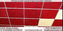 Himalyan Acoustics - acoustic ceiling tiles, acoustical wall panels, Home Theater Soundproofing