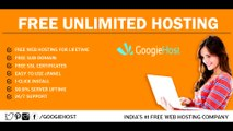 Free Unlimited Web Hosting | Free No Ads Hosting | Top 2017 Free unlimited hosting with cpanel
