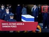 Israel da el último adios a Shimon Peres