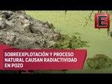 Detectan altos niveles de contaminación en agua de La Cantera