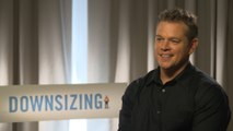 Exclusive Interview: Matt Damon worries about the future