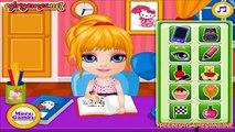 Bébé devoirs relâchement Barbie