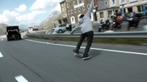 Adrénaline - Skateboard : Simon Stricker réalise un manual long de 2 km !