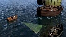 Navire Port-Vendres 1 : voile sous coque
