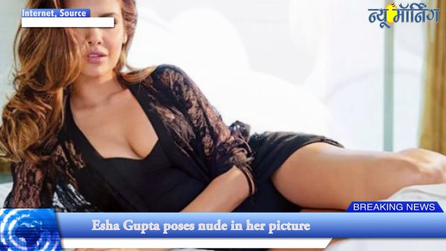 Esha In Hot Mood: Topless Picture Will Make Your Imagination Run Wild