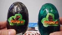 Et dinosaure des œufs complet monstres film Ensemble jouets déballage Hd 2 dragon surprise 恐 竜