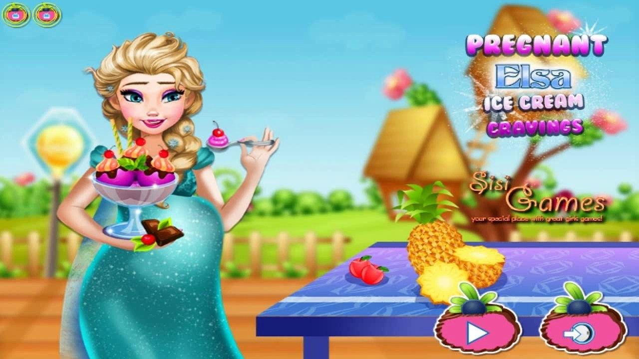 Se Congelado Hielo Elsa Juego Nata Para Cocinar Que Contienen Embarazadas Juegos Online Embarazada Elsa Crea видео Dailymotion