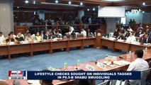 Lifestyle checks sought on individuals tagged in P6.5-B Shabu Smuggling