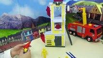 Escroquerie avec pompier Entrainer et tour entremaniento pompiers accessoires doutils sam sam