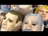 """Máscara do """"Japonês da Federal"""" é a mais vendida da 25 de março para o Carnaval"""