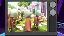 Un et un à un un à et dessin animé drôle aide des moments plantes à Il Essayez contre des morts-vivants Animation 3d mickey donald hap