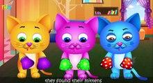 Tres poco gatitos y muchos más gatito gato canciones vivero rimas colección