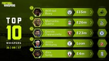 Top 10 Whispers | 22:30 Deadline Day | FWTV