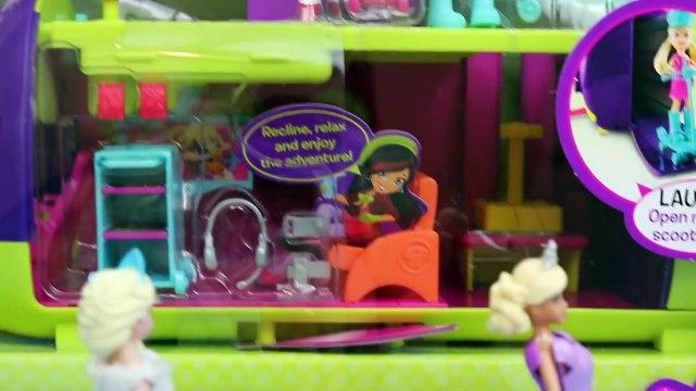 Polly Pocket Frozen Elsa Magic Clip Dolls Airplane Barbie Toys R Us Toy Disney Barbie Play