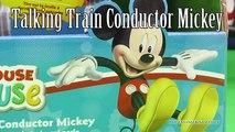 Casa Club ratón Nuevo hablando tren vídeo Mickey mickey mickey conductor mickey