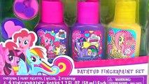 Bebé baño colores ráfaga corazón Aprender poco mi pintar poni tiendas sorpresa juguetes (v) con MLP