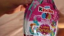 Des œufs Pâques filles Kinder Surprise de collecte dœufs Sirènes surprennent jouets kidstoys
