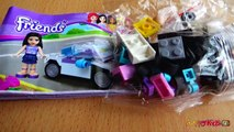 Lego Friends Emmas Sport Car Lego Brick Toys Unboxing Speed Build Review |TheChildhoodlif